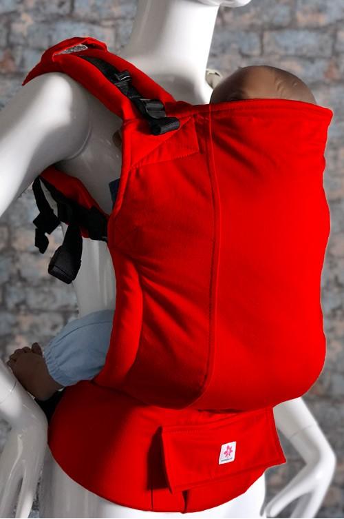Mochila Básica por Talla Rojo