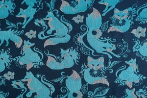 Natibaby Foxes Blue
