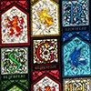 Harry Potter Stained Glass Houses